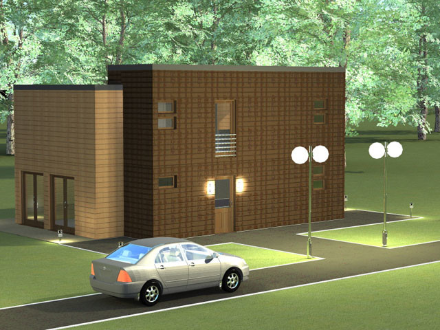 Frame house Urban 183 m² — Price 77.000 euro *includes all kit and installation of it