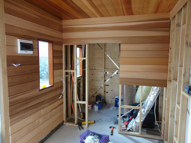 Building From Wood In Australia Construction Process Of A Wooden