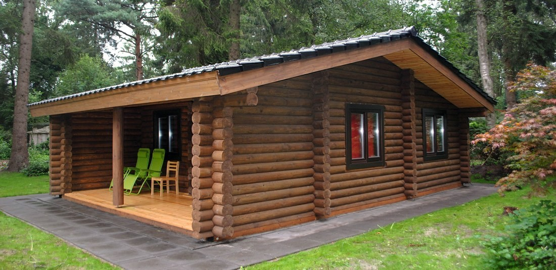 Log cabin kits : Dutch log house