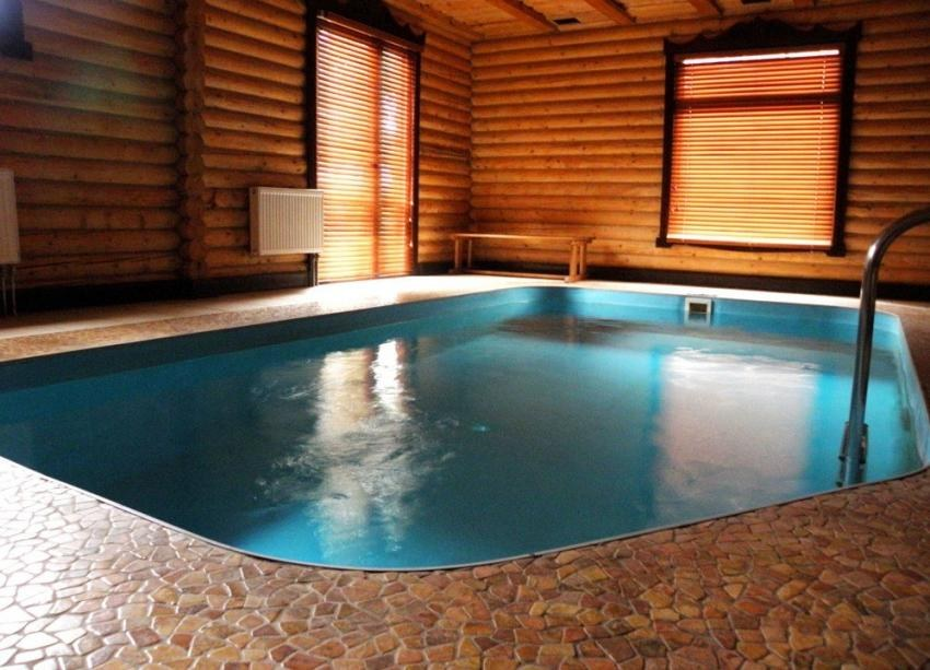 Wooden Houses With Swimming Pools Your Personal Heaven