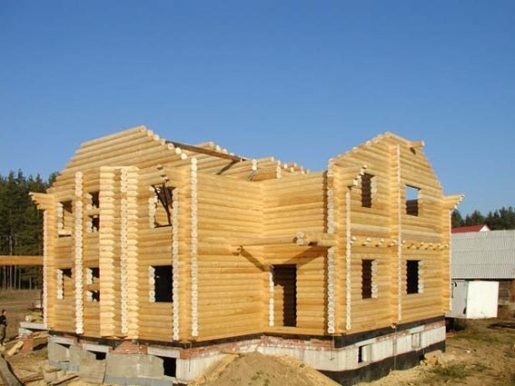 Wood home construction