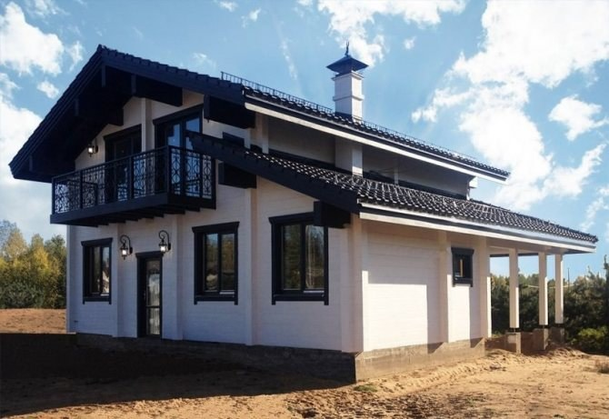 "Wooden house ""Dionis"""