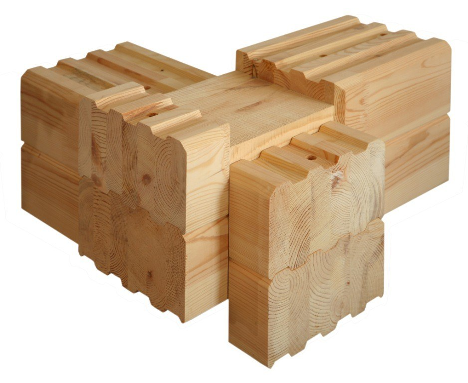 Use thermally-modified wood for building