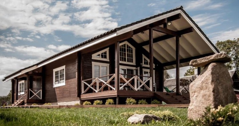 "Wooden chalet-style home ""Annabelle"""