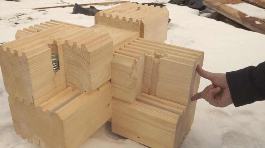 Earthquake: earthquake-resistant construction of wooden houses