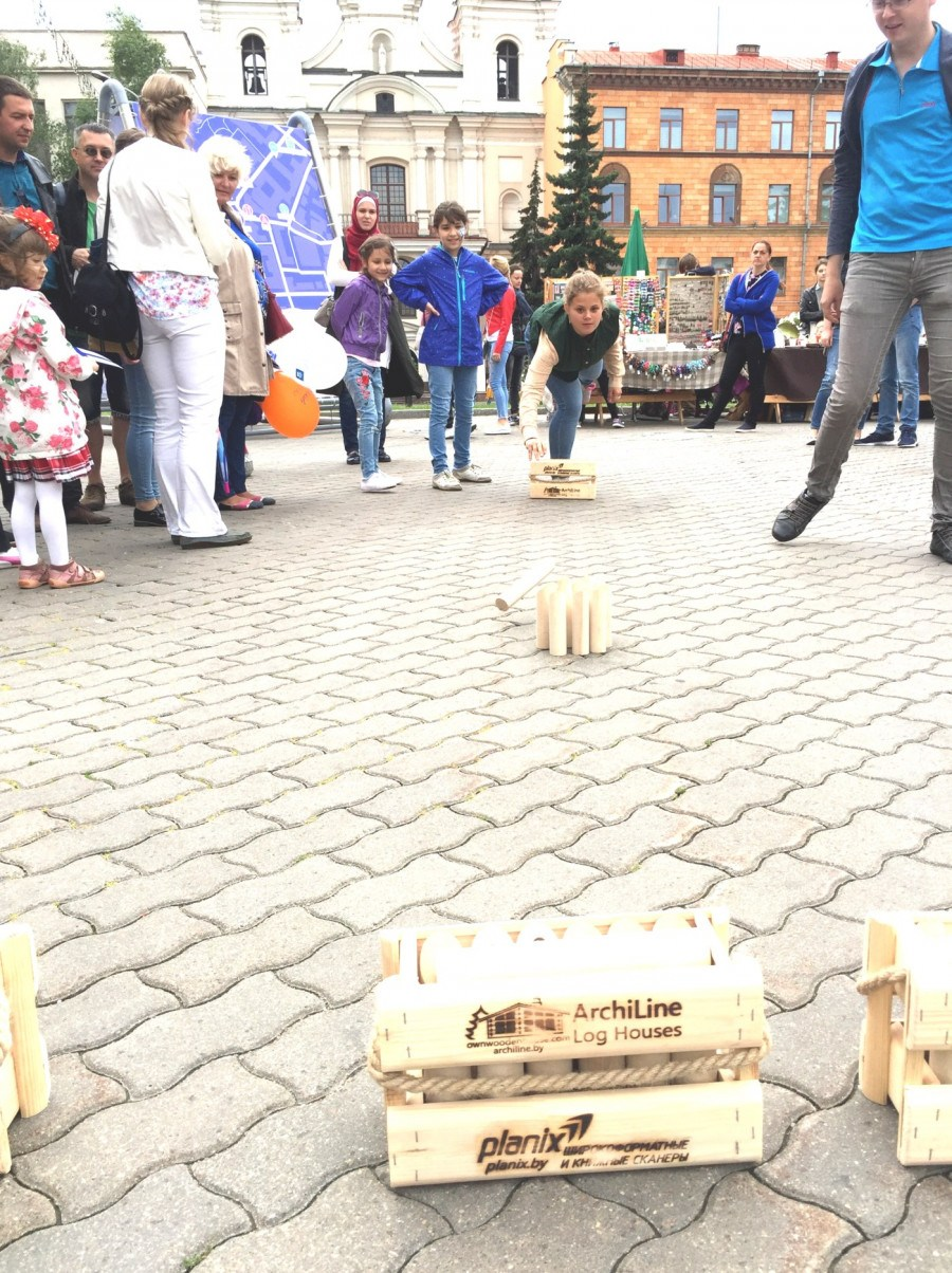 "Buy Finnish throwing game ""Molki"" Mölkky (Malki) 30 euros"
