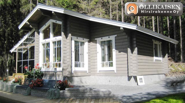 House designs: summer wooden house Tammela