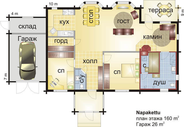 House Designs: Napakettu Wooden House