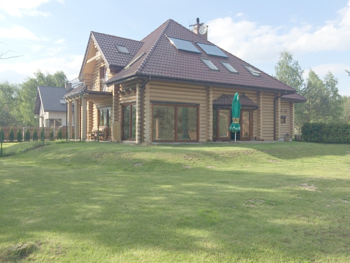 Wooden House Construction And Buildings Poland