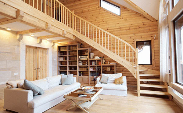 Wood Home Project And Architecture Interior Design