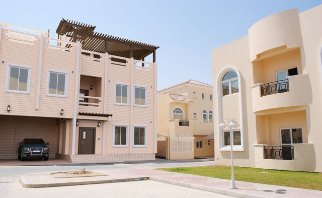 Design of a villa from profiled timber  Doha
