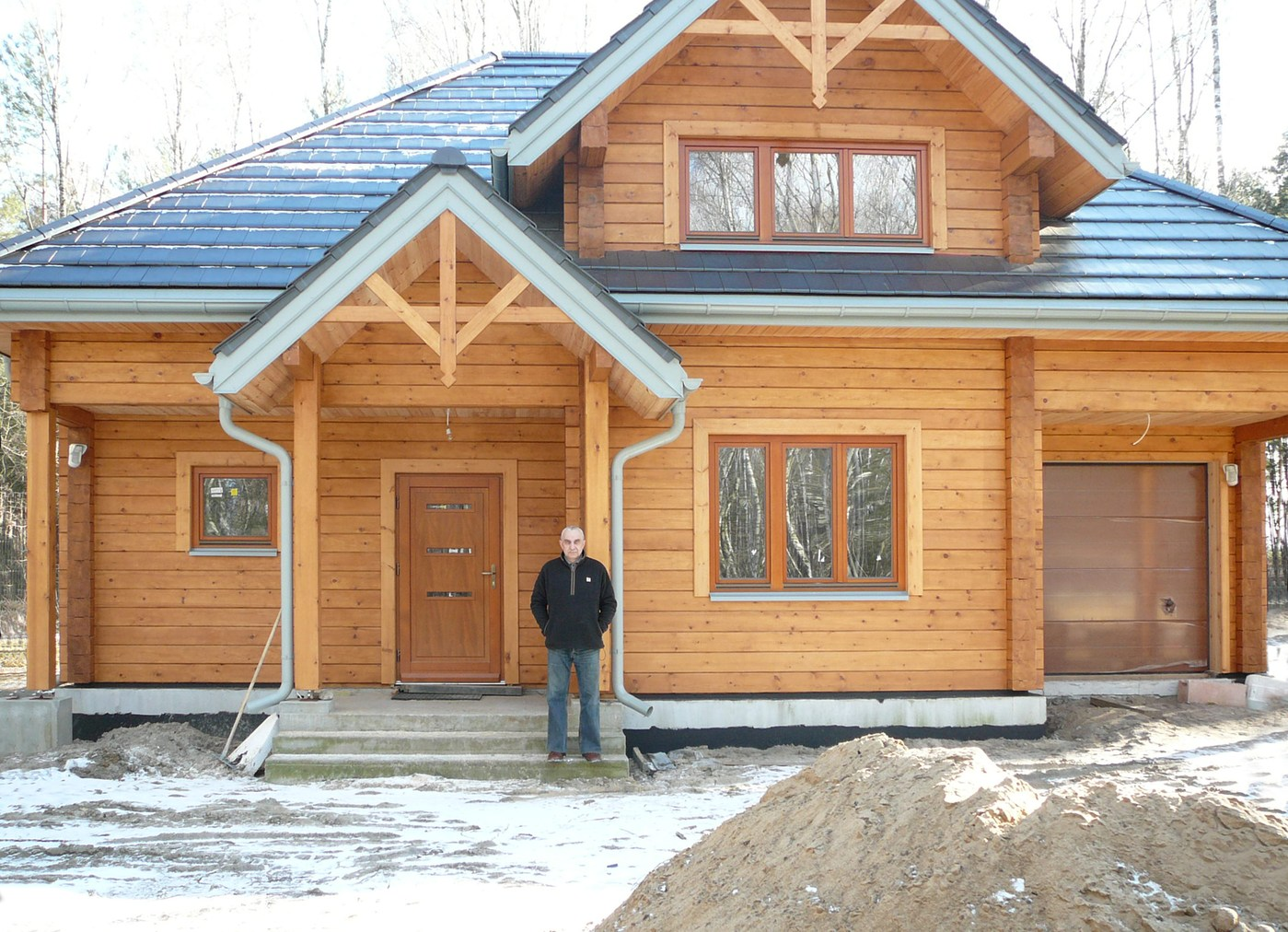 Wooden House Of Glued Laminated Timber Quot Romuald Quot Poland