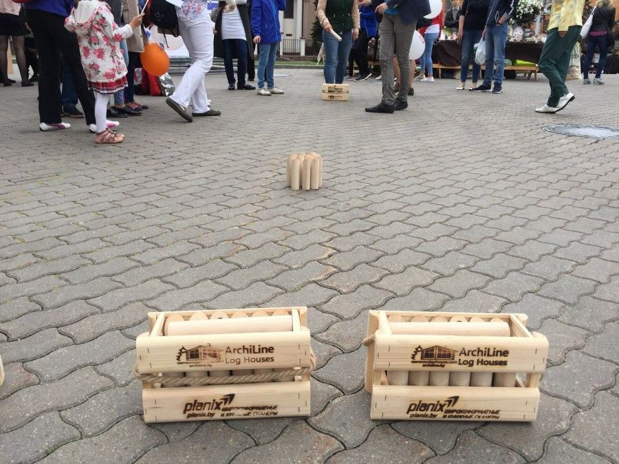Buy Finnish throwing game  Molki  Mölkky (Malki) 30 euros