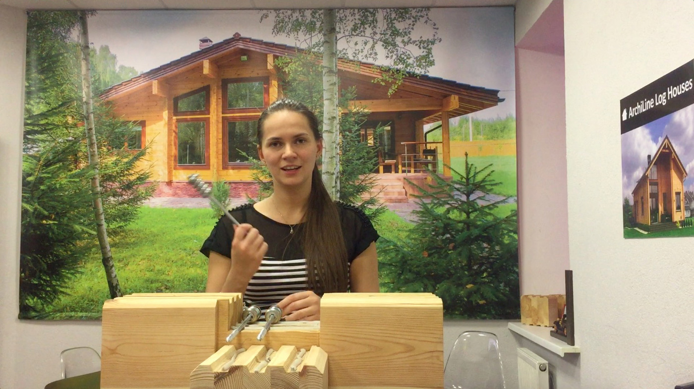 "Spring-type fastening ""SILA"" for the construction of wooden houses to buy in Minsk at a good price 1.80 euros"