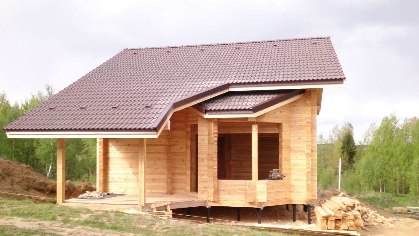 Modular house, project  Duboldom , the total house area - 140 m² - price on application