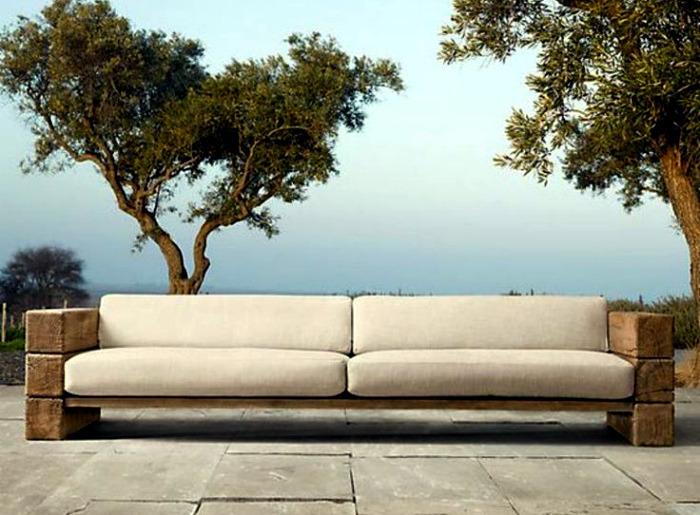Sofa Made Of Timber