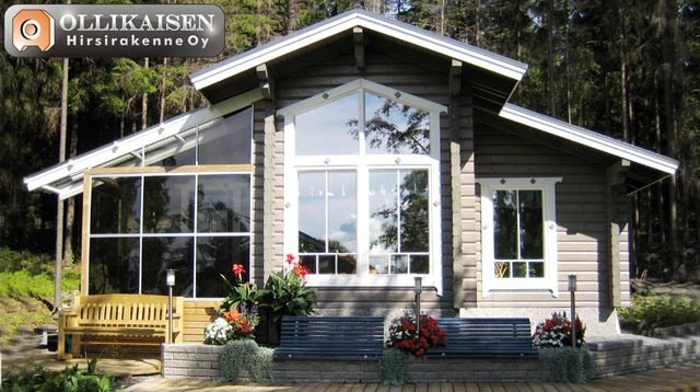 Finnish wooden house Tammela 51 m²