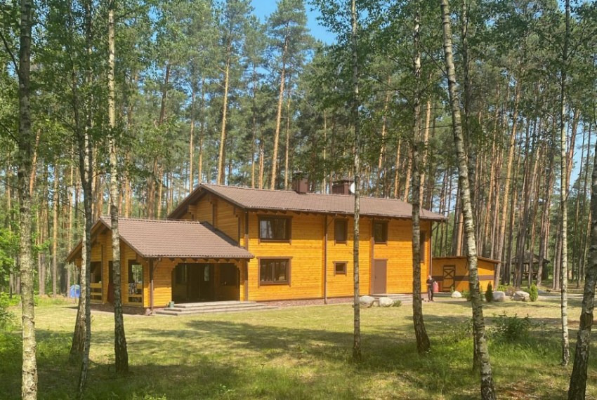 Coliving in Belarus, wooden house  Coliving : sauna, oven, terrace. 2020 year